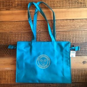 Vintage WIMBLEDON Tote -Turquoise 🎾
